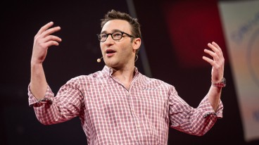Simon Sinek at TED 2014, Photo by James Duncan Davidson
