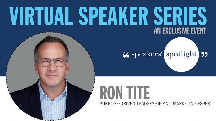 Virtual Speaker Series with Ron Tite