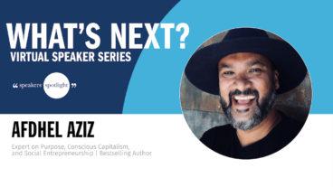 Virtual Speaker Series with Afdhel Aziz
